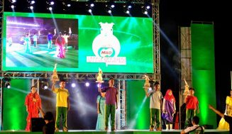 Mothers Honored During Opening Ceremonies of MILO Little Olympics National Finals 2014