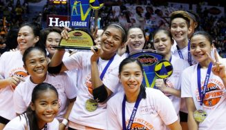 Ultra Fast Hitters net V-League crown