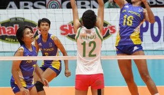 Air Force, BaliPure open semis with wins